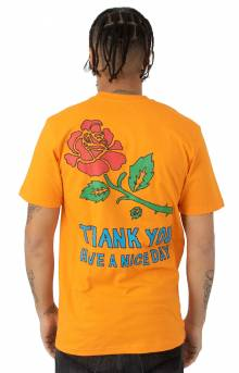 Thank You Rose T-Shirt - Orange