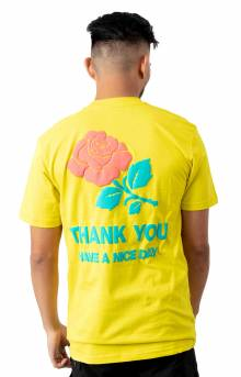 Thank You T-Shirt - Gold