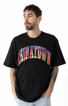 Watercolor Arc T-Shirt - Black
