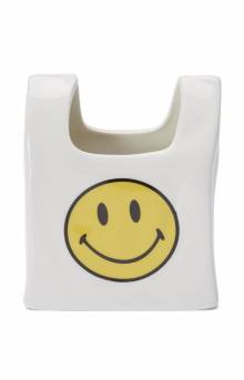 Smiley Bag Ceramic Pen Holder