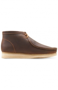 Clarks Clothing, (26103604) Wallabee Boot - Beeswax Leather