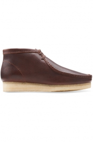 Clarks Clothing, (26103668) Wallabee Boot - Brown Tumbled Leather