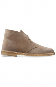 Clarks Clothing, (26110054) Desert Boot - Taupe Distressed Suede