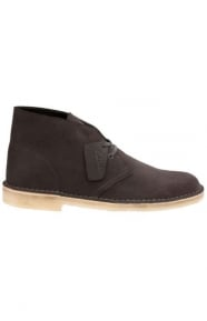 Clarks Clothing, (26118564) Desert Boot - Charcoal Suede