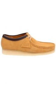 Clarks Clothing, (26118579) Wallabee Shoe - Camel Suede