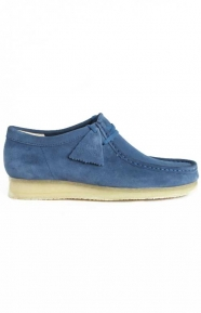 Clarks Clothing, (26122707) Wallabee Boot - Night Blue