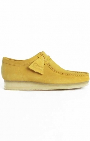 Clarks Clothing, (26122708) Wallabee Boot - Ochre Suede