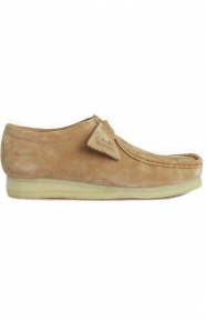 Clarks Clothing, (26123581) Wallabee Boot - Fudge Suede