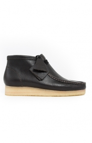 Clarks Clothing, (26125542) Wallabee Boot - Charcoal Leather