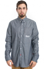 CLSC Clothing, Salute Oxford L/S Button-Up Shirt - Navy