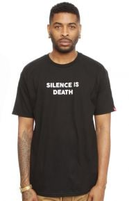 CLSC Clothing, Silence Is Death T-Shirt - Black