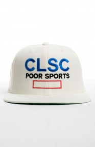 Simplicity Snap-Back Hat - White