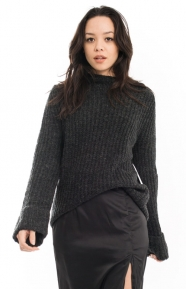 Cotton Candy Clothing, Boulder Sweater - Black