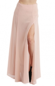 Cotton Candy Clothing, Emelie Skirt - Nude