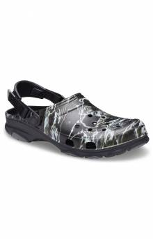 Classic All-Terrain Mossy Oak Elements Clogs - Black
