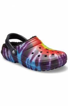 Classic Lined Tie-Dye Clogs - Multi/Black