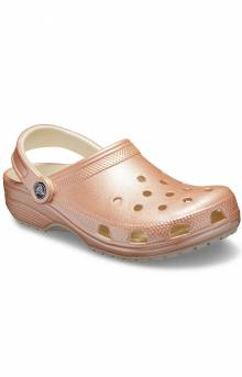 Classic Metal Clog - Rose Gold