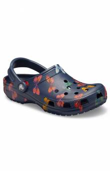 Classic Vacay Vibes Clogs - Butterfly