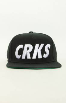 Crks Snap-Back Hat - Black