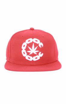 High C Snap-Back Hat - Red