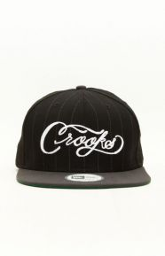 Scripture NE Snap-Back Hat - Black/Grey