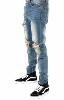 (CRYSP-PAC4) Pacific Denim Jeans - Stone Wash