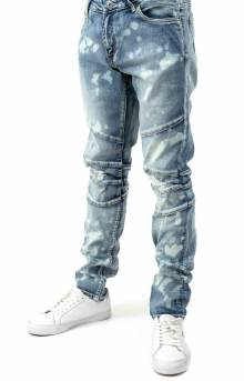 (CRYSP119-114) Montana Denim Jeans - Light Blue