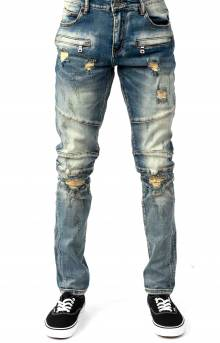 (CRYSPF18-2) Montana Denim Jeans - Vintage Blue