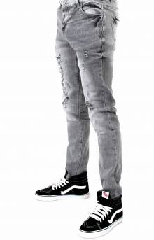 (CRYSPH118-103) Atlantic Denim Jeans - Grey