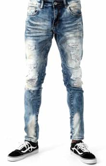 (CRYSPSP220-112) Atlantic Denim Jeans - Indigo Distressed