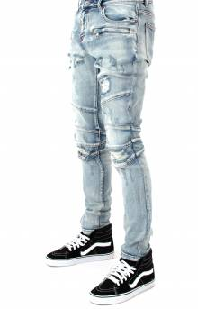 (CRYSPSUM17-23-1) Montana Denim Jeans - Light Blue Stone