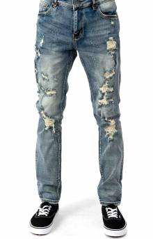 (CRYSU119-109) Atlantic Denim Jeans - Blue