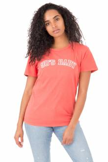 90's Baby T-Shirt - Washed Red