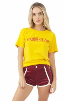 Hopeless Romantic T-Shirt - Mustard