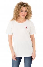 The End Boyfriend T-Shirt - Washed White