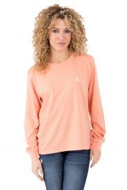 What Goes Around L/S Shirt - Washed Coral