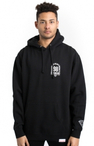 Diamond Supply Clothing, Access Pullover Hoodie - Black