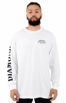 Bulldogs L/S Shirt - White