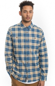 Diamond Supply Clothing, Calcite Button-Up Shirt - Navy