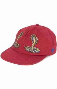 Cobra Strap-Back Hat - Red