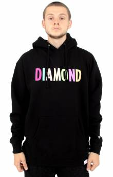 Colour Pop Pullover Hoodie - Black
