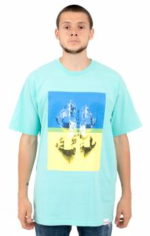 Duplicated T-Shirt - Diamond Blue