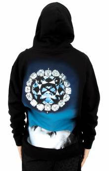 Face Down Pullover Hoodie - Black