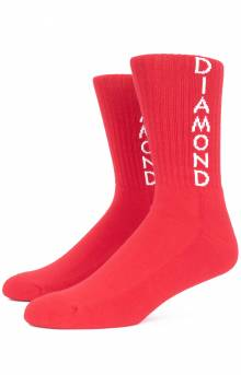 Hobbs Crew Socks - Red