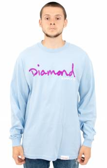 OG Script L/S Shirt - Powder Blue