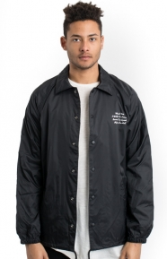 Diamond Supply Clothing, Pacific Tour Coach Jacket - Black