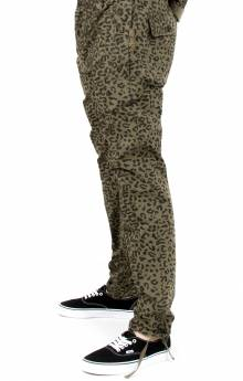 Splinter Cheetah Pants - Olive