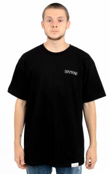 Split T-Shirt - Black