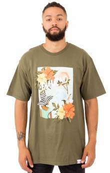 Trade Winds T-Shirt - Military Green