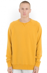 French Terry Crewneck - Yellow